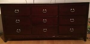 Large Deboer Dante Dresser with Mirror
