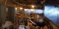 Petite excavation, démolitions, pieux vissé, sonotubes