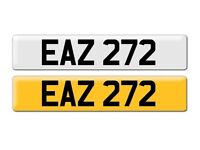 Number plate cherished transfer