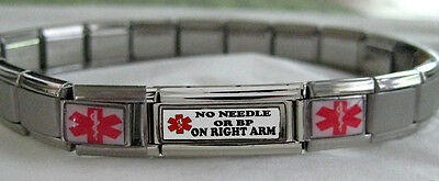 Arm Italian (No Needle / BP on R or L  Arm Lymphedema Medical alert 8