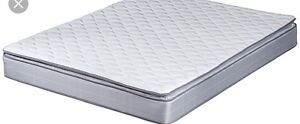 "10"" QUEEN MATTRESS with PILLOW TOP-$225"