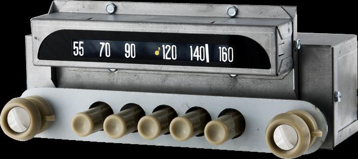 1951 52 Chevrolet Am Fm Bluetooth� Radiorhvintageautoradio: 12 Volt Radios With Speakers At Gmaili.net