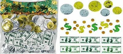 Party Confetti ''Money'' Table Decoration Celebration Anniversary Birthday Notes