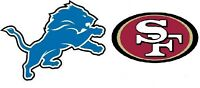 DETROIT LIONS 2015 TICKETS - GREAT LOWER LEVEL SEATS!