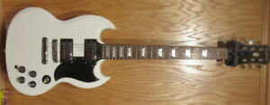 Epiphone SG Electric Guitar With DiMarzio Pickups