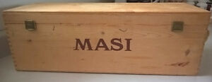 Wine Masi Wooden Box for Storing Wine