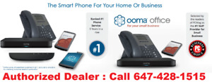 BUSINESS OOMA DIGITAL PHONE SYSTEM, HIGH SPEED UNLIMITED INTERNE
