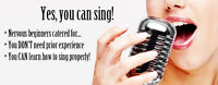 Want to Sing? Voice Lessons/ Only $40/hr/ Whyte