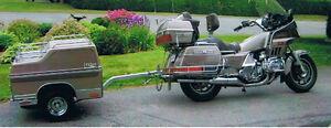 moto honda Aspencade 1984 avec trailer