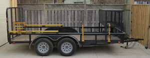 2014 Load Trail Utility 83x14 London Ontario image 1