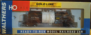 Walthers Gold Line Sulfur Tank Car HO Scale Model Train