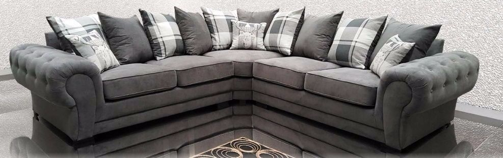 BRAND NEW LUXURY VERONA SOFAS AVAILABLE IN 3 COLOURS AS A 2 SEAT SET