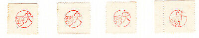 Burma[Japanese Occupation]-1942.Yano Seal.Study, J45 On album page MM.Cat.£200