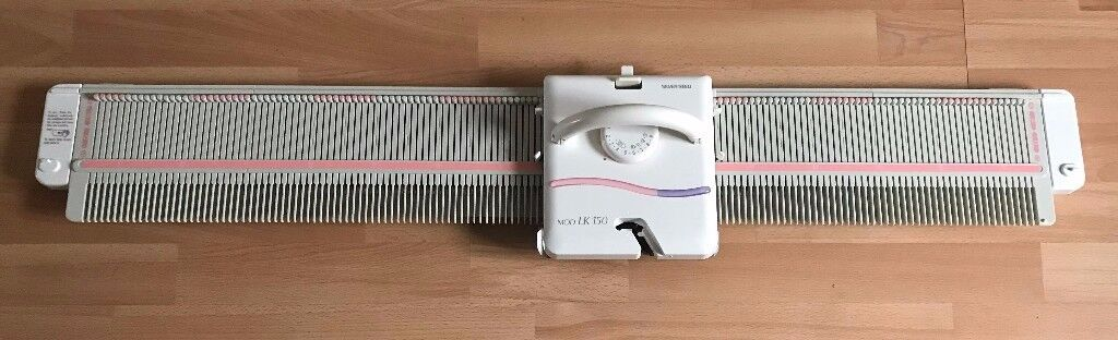 LK150 Silver Reed Knitting Machine. Excellent condition with all ...