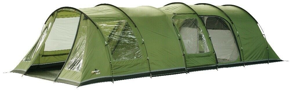 Vango Icarus 500 with Carpet and Front Enclosed Canopy and ...