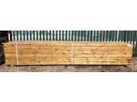 🌞 EASY EDGE WOODEN RAILS/ LENGTHS > NEW > 3 X 2 X 4.8M