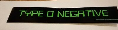 TYPE O NEGATIVE STICKER NEW 1998 VINTAGE OOP RARE COLLECTIBLE