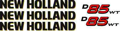 New Holland D85wt Dozer D85 Wt Replacement Decal Sticker Kit Made In Usa