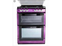 New world purple gas oven/cooker