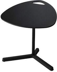 Ikea Dave height adjustable black laptop table