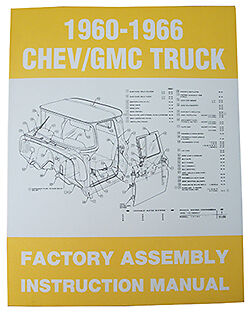 1960 66 Chevy   Gmc Truck Factory Assembly Manual