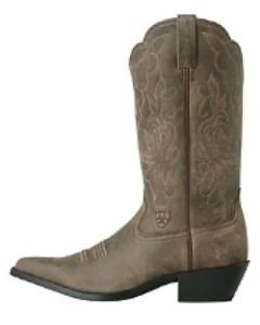 Ariat Heritage Western Boot - Brown Bomber