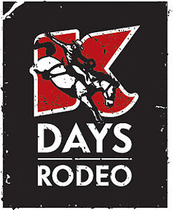 K-Days Rodeo Tickets x2 - includes general admission