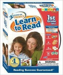 Hooked on Phonics Grade 1 Learn to Read