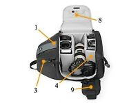 Lowepro Slingshot 302 AW (ALL WEATHER) Camera Bag PRO DSLR - NEW