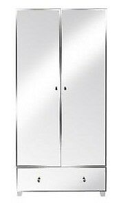 Bellagio 2 Door 1 Drawer Wardrobe - White - (Height 185 Width 86  sc 1 st  Gumtree & Bellagio 2 Door 1 Drawer Wardrobe - White - (Height 185 Width 86 ...