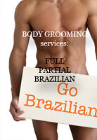 MEN'S Body SHAVINGS/GROOMING/ Massages / PACKAGES/Luxury Private
