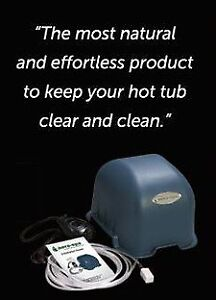 NO More Hot tub chemicals needed