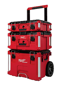 Milwaukee Packout Portable Tool-Box Storage Rolling-Wheeled