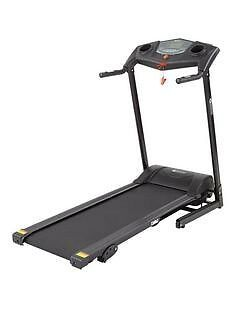 Dynamic motorised treadmill