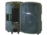 Carlsbro gamma 15,450 watts rms active,powered speakers,cost over £800,pair