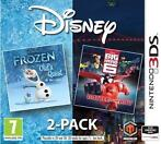 Disney Frozen + Big Hero 6 (double pack) (Nintendo 3DS)