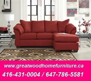 ASHLEY FURNITURE SALE !!! SOFA WITH CHAISE FOR $799 ONLY