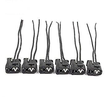Ignition Coil Connector Pigtail Plug Super Spark SSCP-1JZ 4A-GE 2JZ-GE TOYOTA X6