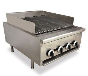 """Heavy duty Char radiant broilers on Sale - 24"""", OMCAN, Brand new"""