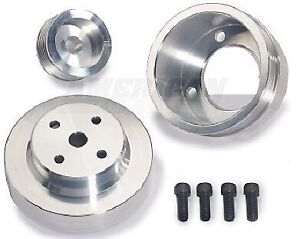 Fox body mustang underdrive pulley kit