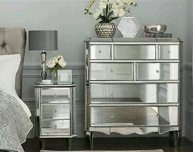 mirrored furniture next. Mirrored Juliette Pewter Chest Of Drawers Brand New *next* Furniture Next X