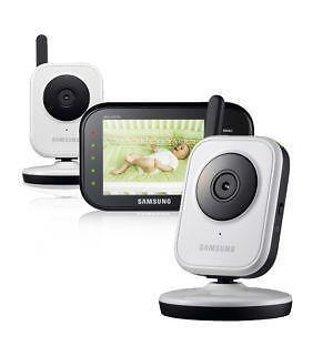 samsung video baby monitor ebay. Black Bedroom Furniture Sets. Home Design Ideas