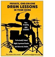 Drum Lessons in Thornhill. First Lesson Free!