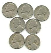 Jefferson Nickel Lot