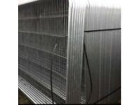 New Round Top Heras * Temporary Security Fencing Sets