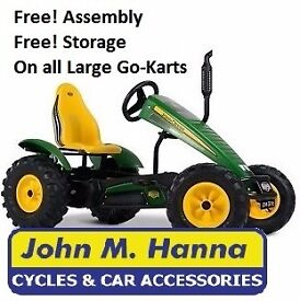 John Deere, New Holland, Case Ih, Fendt & Class Pedal Go Karts by Berg Traxx and Buddy Carts