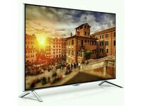 "Panasonic 55"" 4k UHD smart wifi tv 3D."