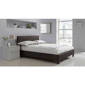 Hygena Constance Kingsize Bed Frame - Chocolate