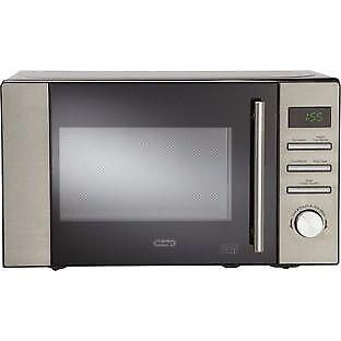De'Longhi 800W Standard Microwave - Stainless Steel