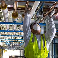 Mechanical insulation / firestopper / laborer
